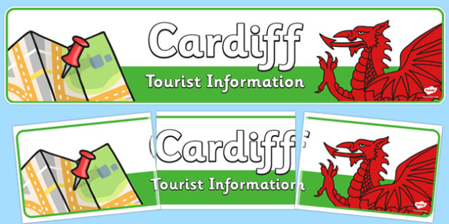 Cardiff Tourist Information Role Play Banner - cardiff, role-play