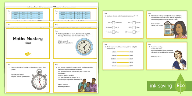 year 3 time maths mastery challenge cards ks2 maths time measures. Black Bedroom Furniture Sets. Home Design Ideas