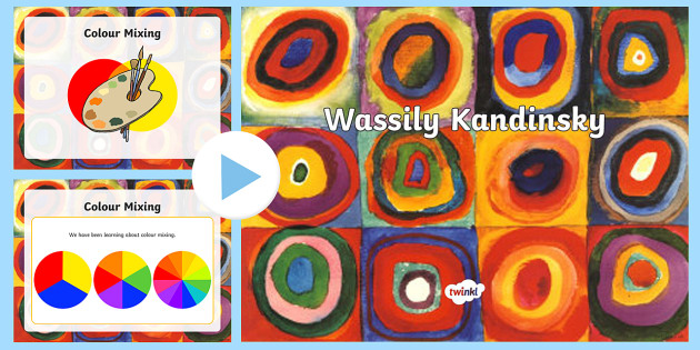 All About Kandinsky Powerpoint Art Kandinsky Artist