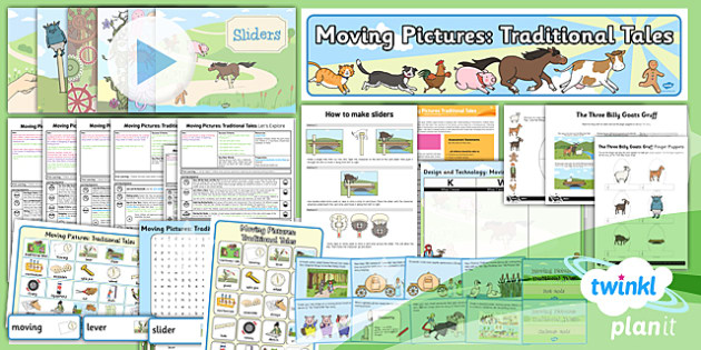D&T: Moving Pictures Traditional Tales KS1 Unit Pack