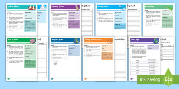Hands On Science Experiment and Prompt Card Pack - Science Week, science, experiments, hands on, chemistry, biology, astronomy, investigation,