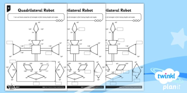 Planit maths y5 properties of shapes quadrilateral robot home planit maths y5 properties of shapes quadrilateral robot home learning ccuart Gallery