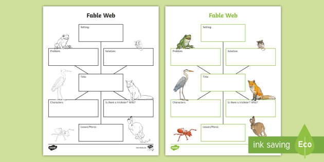 fable web diagram images gallery