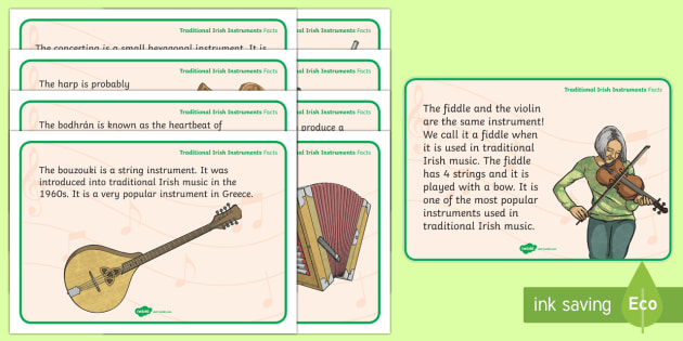 roi2 mu 15 traditional irish instruments display facts posters ver 2