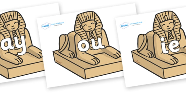 Phase 5 Phonemes on Sphinx - Phonemes, phoneme, Phase 5, Phase five, Foundation, Literacy, Letters and Sounds, DfES, display