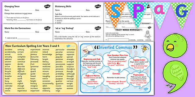 KS2 SPaG Resource Pack Ks2 Spag Resource Pack Resources