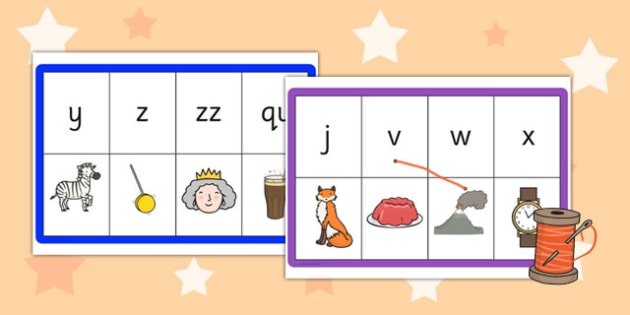 Phase 3 Phonemes Matching Threading Cards - phase 3, phonemes