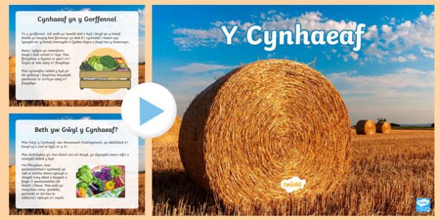 Pŵerbwynt Y Cynhaeaf  (Diolchgarwch)