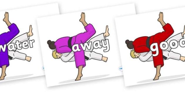 Next 200 Common Words on Judo - Next 200 Common Words on  - DfES Letters and Sounds, Letters and Sounds, Letters and sounds words, Common words, 200 common words