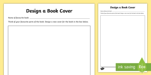 Book Cover Design Worksheet : Abu dhabi reads design a new cover activity sheet uae