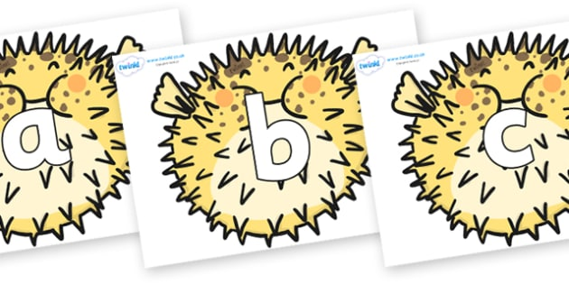 Phoneme Set on Pufferfish - Phoneme set, phonemes, phoneme, Letters and Sounds, DfES, display, Phase 1, Phase 2, Phase 3, Phase 5, Foundation, Literacy