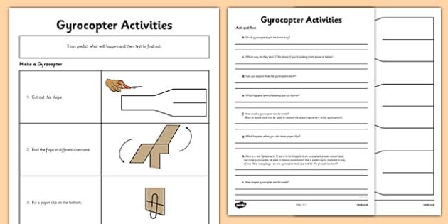 Gyrocopter Activities - gyrocopter, activities, design, technology