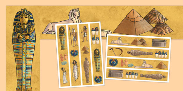 Ancient Egypt Display Borders - ancient egypt, display borders, display, borders