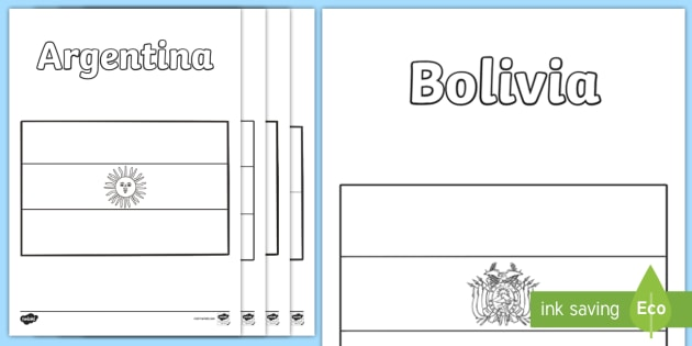 - Flags Of South America Coloring Pages (teacher Made)