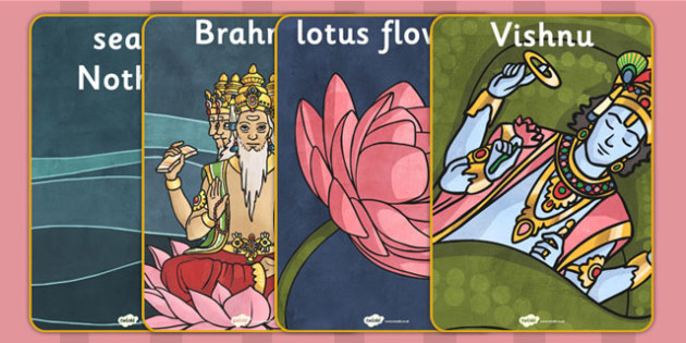 Hindu Creation Story Posters - hinduism, religion, RE, stories