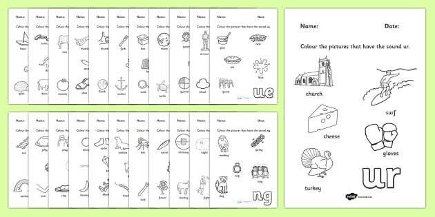 Digraph Colouring Worksheets digraph colouring worksheets – Digraphs Worksheets
