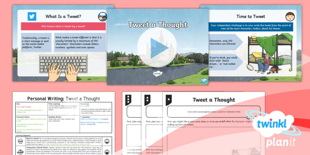 Explorers: Dreams and Anders Arnfield: Personal Writing 1 Y6 Lesson Pack - the dual world of anders arnfield, tweet, blog, precis, dreams, discussion texts, argument text, debate language