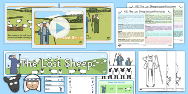 The Lost Sheep Teaching Pack - the lost sheep, teaching pack, pack, teaching, resources