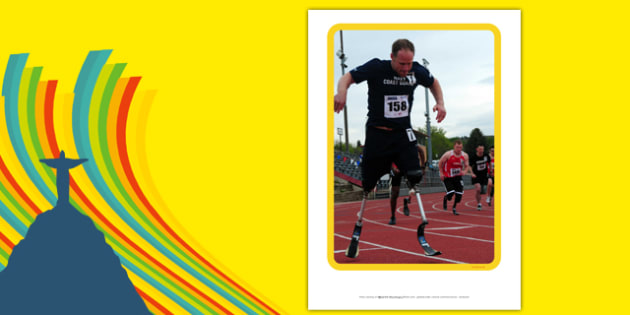 The Paralympic Events Athletics Display Photos - Athletics, athlete, running, Paralympics, sports, wheelchair, visually impaired, display, photo, photos, poster, 2012, London, Olympics, events, medal, compete, Olympic Games