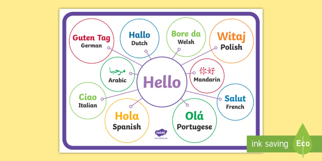 how to say hello in sign language uk