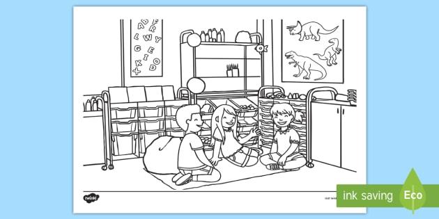 Erster Tag Im Kindergarten Ausmalbild Malen Anmalen Ausmalen