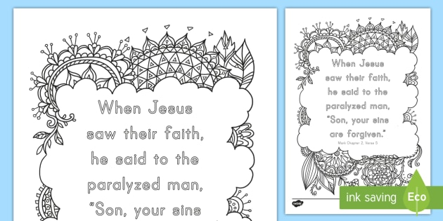 Mark 25 Mindfulness Coloring Page