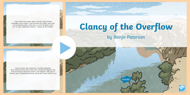 Clancy of the overflow essay