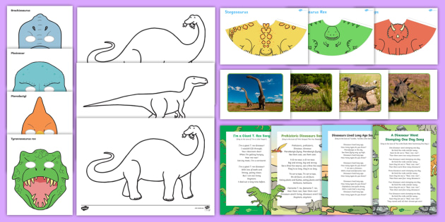 Dinosaur Themed Intergenerational Toddler Singing Group Resource Pack - Intergenerational Ideas, dinosaur, singing, ideas, support, activities, care givers, activity coordi