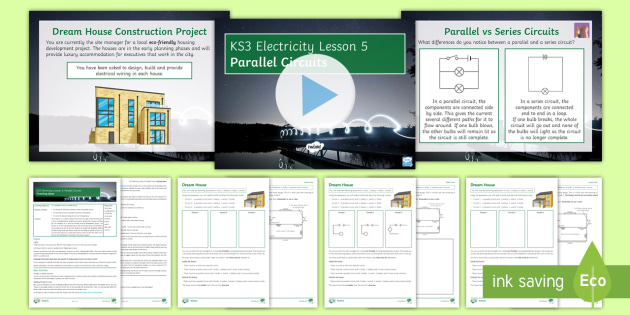 Awe Inspiring Ks3 Electricity Lesson 5 Parallel Circuits Lesson Pack Parallel Wiring Digital Resources Antuskbiperorg