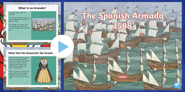 ks2 the spanish armada information powerpoint spanish armada. Black Bedroom Furniture Sets. Home Design Ideas