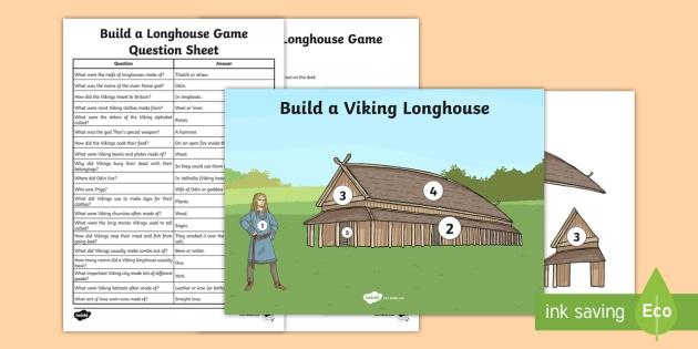 Viking Longhouse Game Viking House Viking Houses Viking