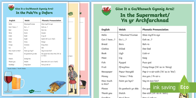 Tables 4 posters Welsh Alphabet Poster Welsh Language Educational
