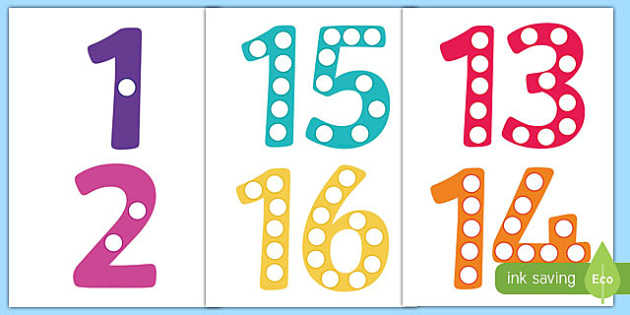 photograph relating to Free Printable Numbers 1-20 identify Printable Quantities 1-20