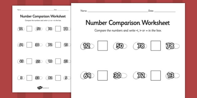 Stone Soup Number Comparison Worksheets - stone soup, number