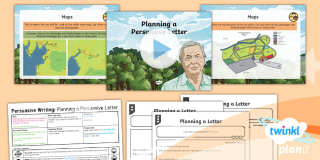 PlanIt Y6 Living Things and Their Habitats: David Attenborough Lesson Pack Persuasive Writing (3) - Living Things and Their Habitats: David Attenborough, english, literacy, Year 6, Y6, persuasion, per