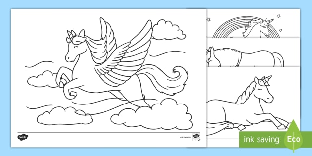 Coloriage Magique Happy New Year.New Feuilles De Coloriage Les Licornes Colorier Coloriage