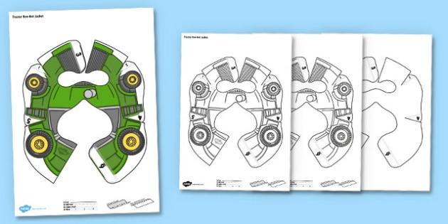 Tractor Bee Bot Jacket - tractor, beebot, bee bot, bee-bot