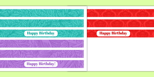 100th Birthday Party Cake Ribbon - 100th birthday party, 100th birthday, birthday party, cake ribbon