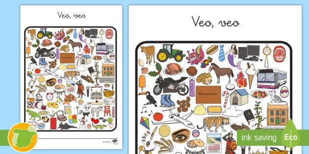 New ficha de actividad veo veo 2 juego educativo new ficha de actividad veo veo 2 juego educativo bsqueda solutioingenieria Image collections