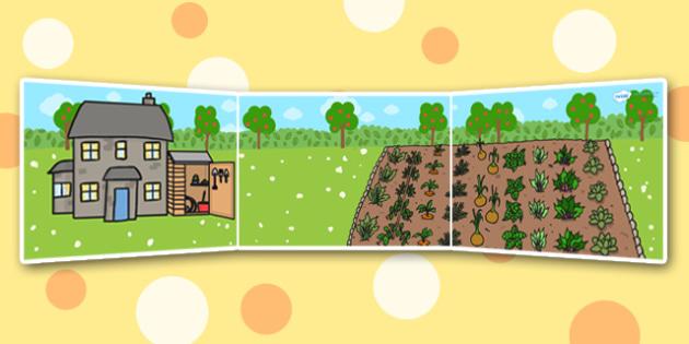 Olivers Vegetables Small World Background - olivers vegetables