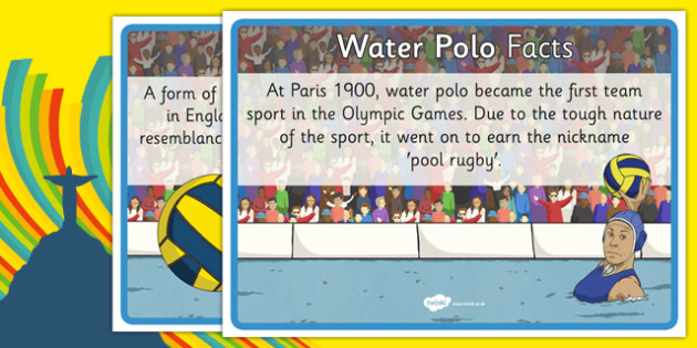 The Olympics Water Polo Display Facts - the olympics, rio olympics, rio 2016, 2016 olympics, water polo, display facts