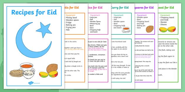 Eid Recipe Book - eid, recipe, book, recipe book, cooking, cook
