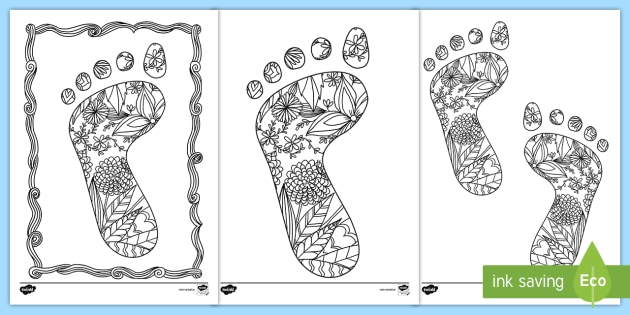 roi2 p 30 footprint mindfulness colouring pages ver 1