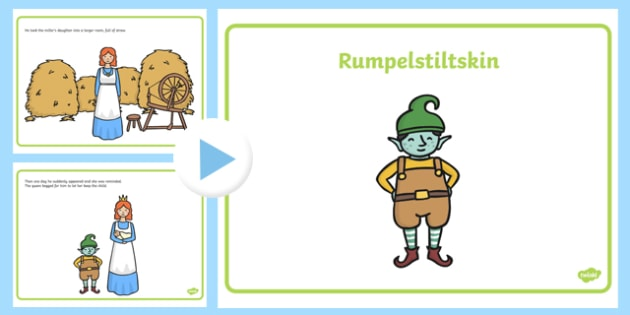 Rumpelstiltskin Story PowerPoint - rumpelstiltskin, rumpelstiltskin powerpoint, rumpelstiltskin story, traditional tales, rumpelstiltskin story sequencing