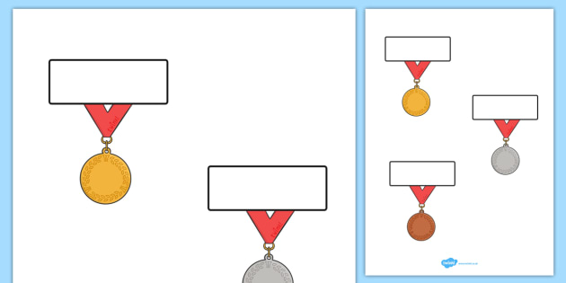 The Olympics Editable Medals Self-Registration - Olympics, Olympic Games, sports, Olympic, London, 2012, Self registration, register, editable, labels, registration, child name label, printable labels, Olympic torch, flag, countries, medal, Olympic R