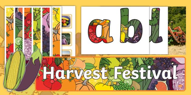 Harvest Festival Display Pack