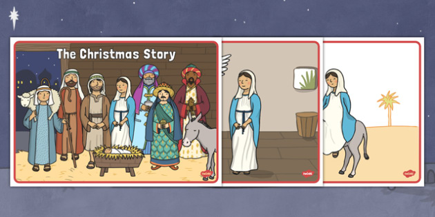 Short Christmas Story Sequencing - christmas, story, sequencing