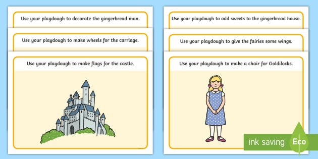 Traditional Tales Themed Playdough Mats - traditional tales, playdough mats, play dough mats, play doh mats, playdough, play doh, fine motor skills, design