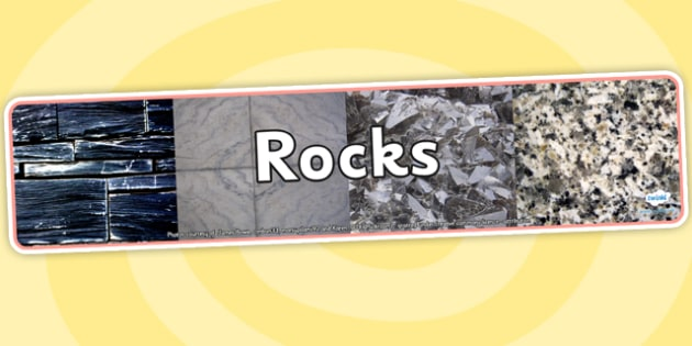 Image result for rocks display banner ks2