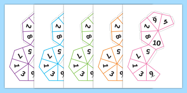graphic regarding Dice Bag Printable Pattern titled Absolutely free! - Cube Website (1-10) - cube, 1-10, templates, how in the direction of crank out